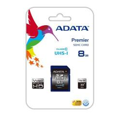 Cheap Stationery Supply of ADATA Premier SDHC UHS-I U1 Class10 8GB 8GB SDHC Class 10 memory card ASDH8GUICL10R Office Statationery