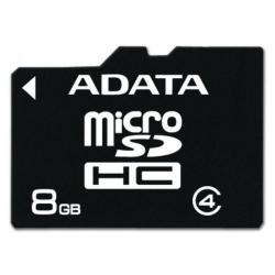 Cheap Stationery Supply of ADATA 8GB MicroSD Class 4 8GB MicroSD Class 4 memory card AUSDH8GCL4R Office Statationery