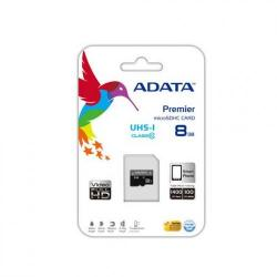 Cheap Stationery Supply of ADATA Premier microSDHC UHS-I U1 Class10 8GB 8GB MicroSDHC Class 10 memory card AUSDH8GUICL10R Office Statationery