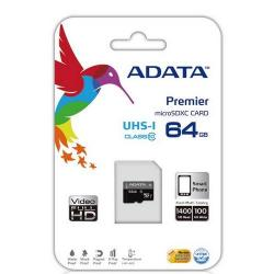 Cheap Stationery Supply of ADATA Micro SDXC 64GB 64GB MicroSDXC UHS Class 10 memory card AUSDX64GUICL10R Office Statationery