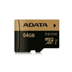 Cheap Stationery Supply of ADATA Speicherkarten 64GB MicroSDXC UHS-I Class 10 memory card AUSDX64GXUI3R Office Statationery