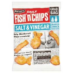 Cheap Stationery Supply of Burtons Fish n Chips Salt and Vinegar 40g 16264 Office Statationery