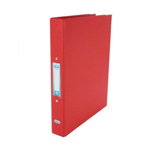 Elba A4 2-Ring Binder 25mm Red 400001511