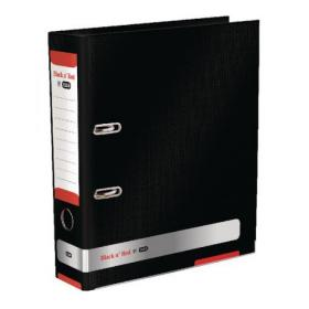 Elba Black n Red 70mm Lever Arch File A4 400051488