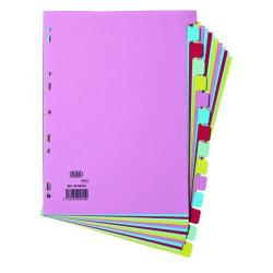 Cheap Stationery Supply of Elba 15-Part Card Divider Recycled Manilla A4 Assorted 100080774 Office Statationery