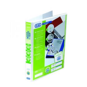 Elba Panorama 25mm 4 D-Ring Presentation Binder A4 White 400008416