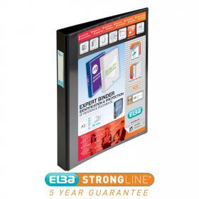 Elba Vision 30mm 4D-Ring Binder Upright A3 Black 400009729