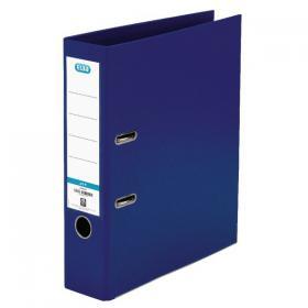 Elba 70mm Lever Arch File Plastic A4 Blue 100025926