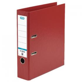 Elba 70mm Lever Arch File Plastic A4 Red 100102172