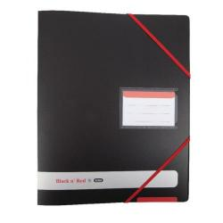 Cheap Stationery Supply of Elba Black n Red 4-Ring Binder 16mm A4 Black 400078863 Office Statationery