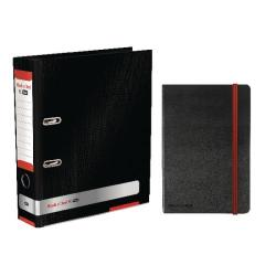Cheap Stationery Supply of Black n Red Lever Arch A4 File 80mm Buy 4 Get FOC Black n Red A4 Hard Cover Notebook BX810396 Office Statationery