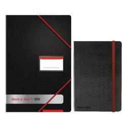 Cheap Stationery Supply of Black n Red Display Book Buy 4 Get FOC Black n Red A4 Hard Cover Notebook BX810401 Office Statationery