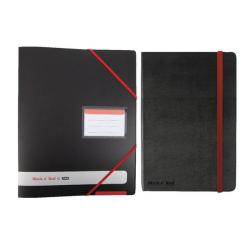 Cheap Stationery Supply of Black n Red Ring A4 Binder 4 Ring 16mm Buy 4 Get FOC Black n Red A4 Hard Cover Notebook BX810403 Office Statationery