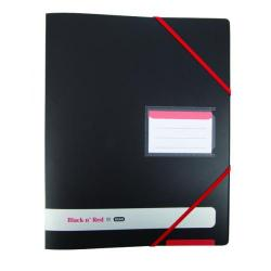 Cheap Stationery Supply of Elba Black n Red 16mm 4 Ring Binder A4 Buy One Get One Free (Pack of 2) BX810414 Office Statationery