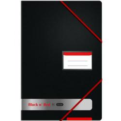 Cheap Stationery Supply of Elba Black n Red Display Book 20 Pocket A4 (Pack of 2) BX810418 Office Statationery