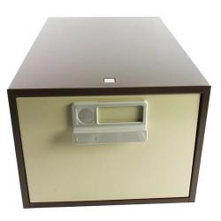 Cheap Stationery Supply of Bisley Card Index Cabinet 8x5 inches Single Coffee/Cream FCB15CC Office Statationery