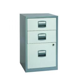 Cheap Stationery Supply of Bisley 3 Drawer A4 Home Filer Silver/White BY00587 Office Statationery