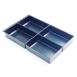 Cheap Stationery Supply of Bisley Multi Drawer Insert Tray Plastic 4 Compartments 227P5 Office Statationery