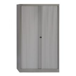 Cheap Stationery Supply of Bisley Side Opening Tambour Cupboard W1000xD470xH1651mm Goose Grey BY01264 Office Statationery