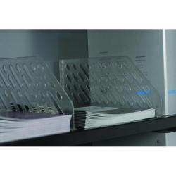 Cheap Stationery Supply of Bisley Shelf Divider Plastic Clear BSDP5 (Pack of 5) Office Statationery