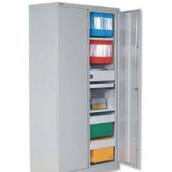 Cheap Stationery Supply of Bisley 2D Cupboard 72X36 Grey Office Statationery