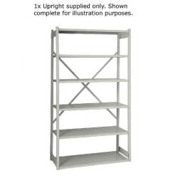 Cheap Stationery Supply of Bisley W1000xD460mm Grey Shelving Extension Kit 1018ESEXK46-AT4 Office Statationery