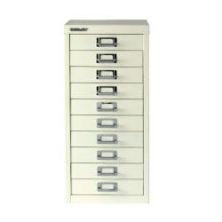 Cheap Stationery Supply of Bisley 10 Drawer A4 Cabinet Chalk White BY19660 Office Statationery