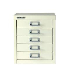 Cheap Stationery Supply of Bisley Multi-Drawer Cabinet A4 5 Drawer Chalk White BY20151 Office Statationery