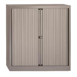 Cheap Stationery Supply of Bisley Eurotambour Unit W1000 x D430 x H1030mm 2 Shelf Silver BY50376 Office Statationery