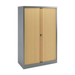 Cheap Stationery Supply of Bisley Tambour 1585mm Empty Beech BY78726 Office Statationery