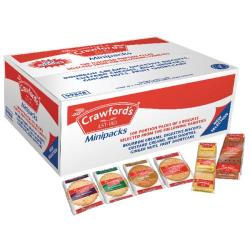 Cheap Stationery Supply of Crawfords Assorted Mini Biscuit (Pack of 100) 99848 Office Statationery