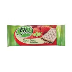Cheap Stationery Supply of McVities Go Ahead Strawberry Yoghurt Break Bar Pack of 24 A07455 Office Statationery