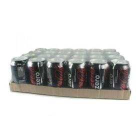 Coke Zero Soft Drink 330ml (Pack of 24) FOCOC018C