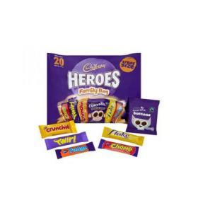 Cadburys Heroes Variety Bag Each 4254642