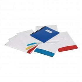 Tyvek Pocket Envelopes Strong Lightweight C4 H324xW229mm 55gsm Peel & Seal White Ref 11782 Pack of 100