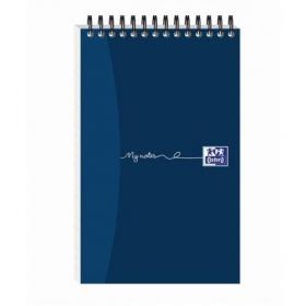 Oxford MyNotes Reporters Notebook 90gsm Ruled Perforated 300pp 125x200mm Ref 100080435 Pack of 5