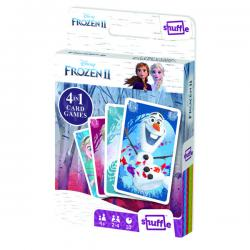 Cheap Stationery Supply of Shuffle Disney Frozen II 4-in-1 Card Game (Pack of 12) 108547998 Office Statationery