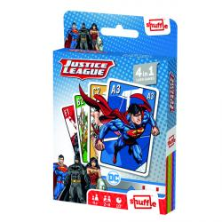 Cheap Stationery Supply of Shuffle Justice League 4-in-1 Card Game (Pack of 12) 108543998 Office Statationery