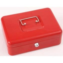 Cheap Stationery Supply of Phoenix 10 Cash Box CB0102K with Key Lock Office Statationery