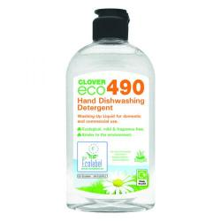 Cheap Stationery Supply of Clover ECO 490 Dishwashing Detergent 300ml (Pack of 6) 490 Office Statationery