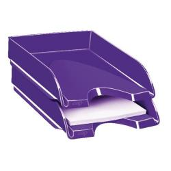 Cheap Stationery Supply of CEP Pro Gloss Letter Tray Purple 200GPURPLE Office Statationery