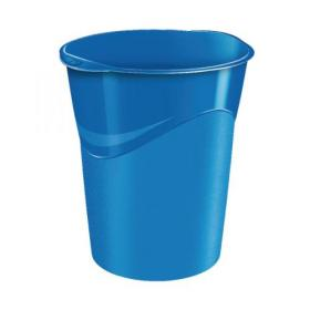 CEP Pro Gloss Waste Bin Blue 280GBLUE