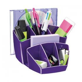 CEP Pro Gloss Desk Tidy Purple 580GPURPLE