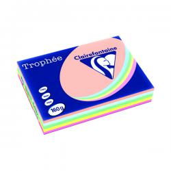 Cheap Stationery Supply of Trophee Card A4 160gm Pastel Assorted (Pack of 250) 1712C Office Statationery