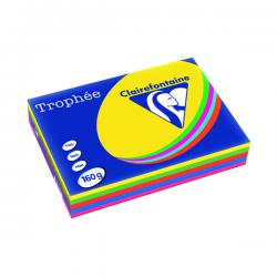 Cheap Stationery Supply of Trophee Card A4 160gm Intensive Assorted (Pack of 250) 1713C Office Statationery
