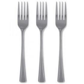 12 x Stainless Steel Cutlery Forks (Tough, stain resistant and dishwasher-proof) F01525