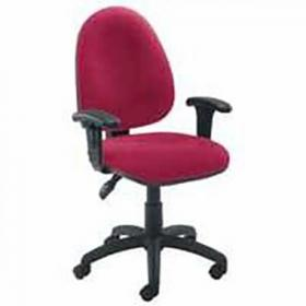 Initiative Medium Back Operator Chair Claret