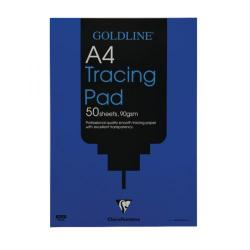 Cheap Stationery Supply of Clairefontaine Goldline Professional Tracing Pad 90gsm A4 50 Sheets GPT1A4 Office Statationery