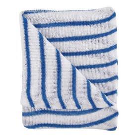 Hygiene Dishcloths 406x304mm Blue/White (Pack of 10) 100755BU