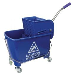 Cheap Stationery Supply of Mobile Mop Bucket and Wringer 20 Litre Blue 101248BU Office Statationery